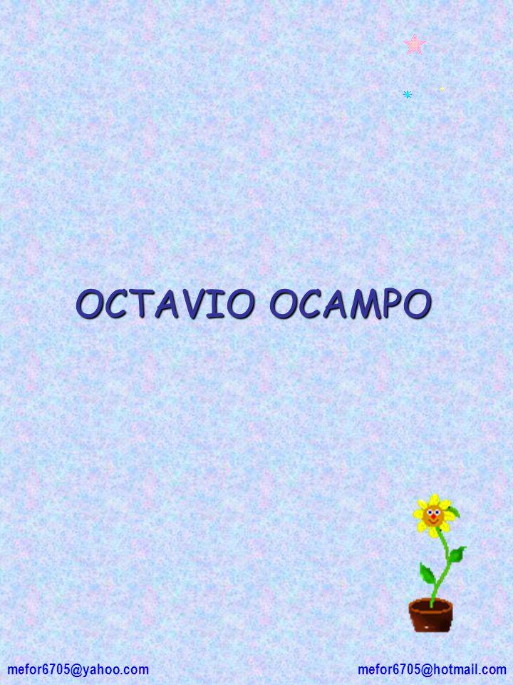 OCTAVIO OCAMPO mefor6705@hotmail.com