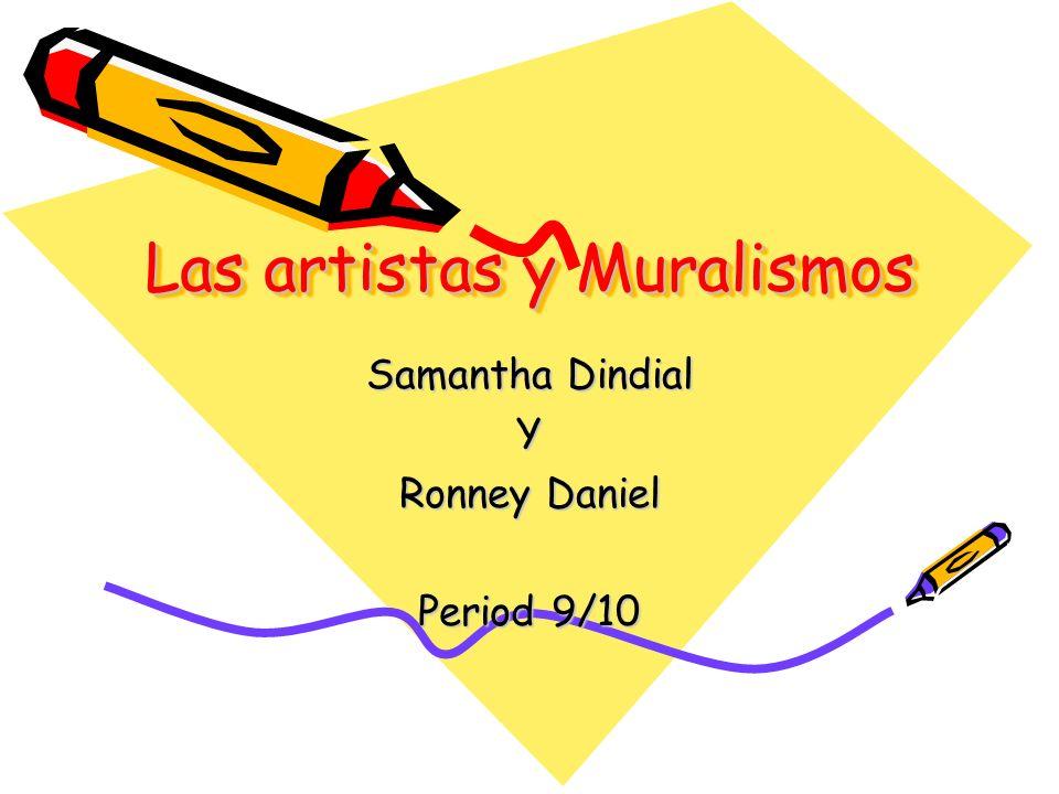 Las artistas y Muralismos