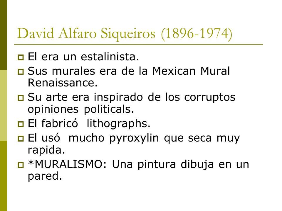 David Alfaro Siqueiros (1896-1974)