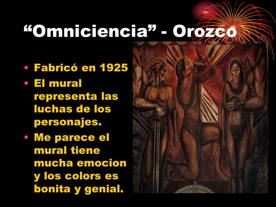 Omniciencia - Orozco