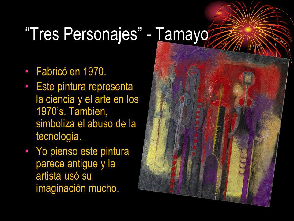 Tres Personajes - Tamayo