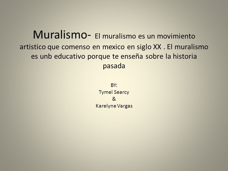 BY: Tymel Searcy & Karelyne Vargas