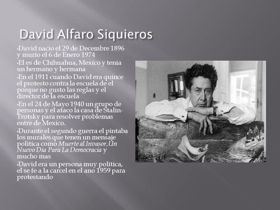 David Alfaro Siquieros