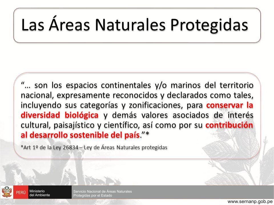 Las Áreas Naturales Protegidas