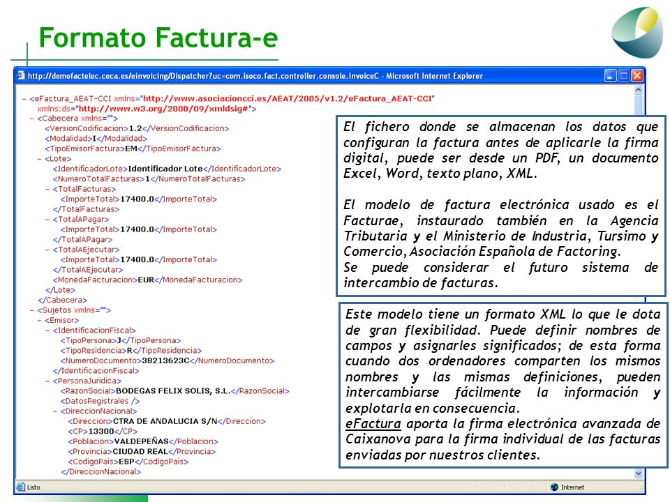 formato factura electronica excel
