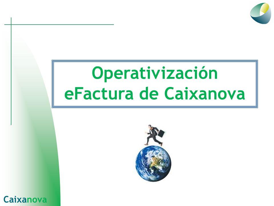 Operativización eFactura de Caixanova