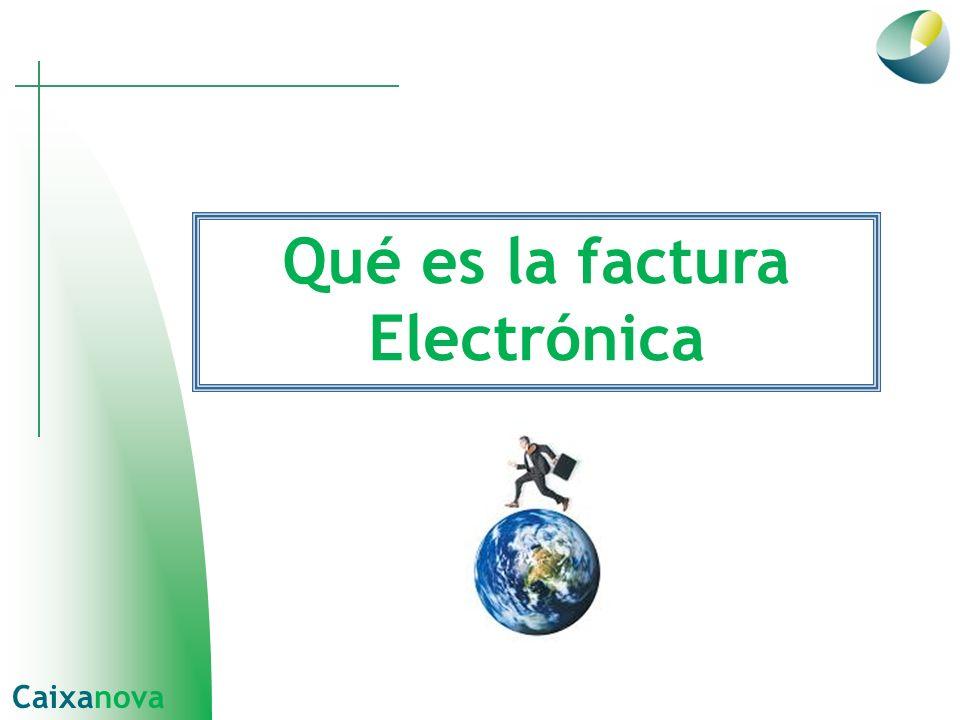 Qué es la factura Electrónica