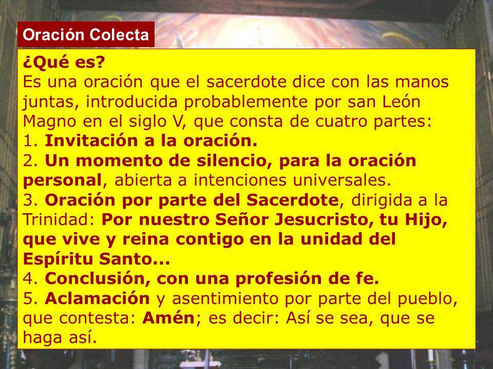 1. Invitación a la oración.