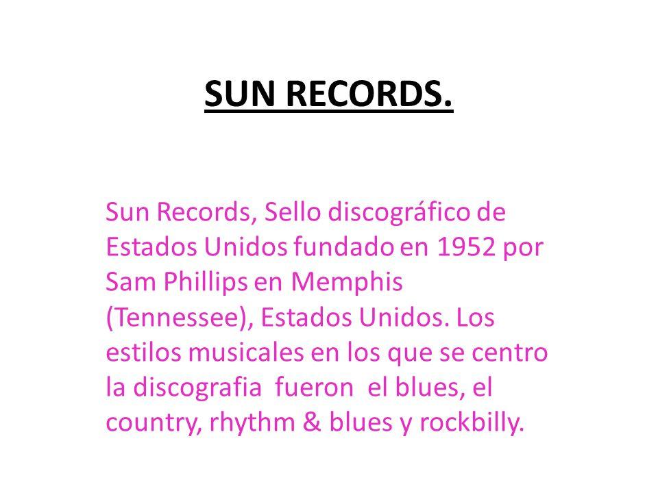 SUN RECORDS.
