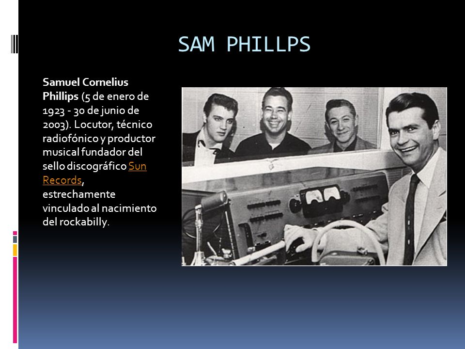 SAM PHILLPS