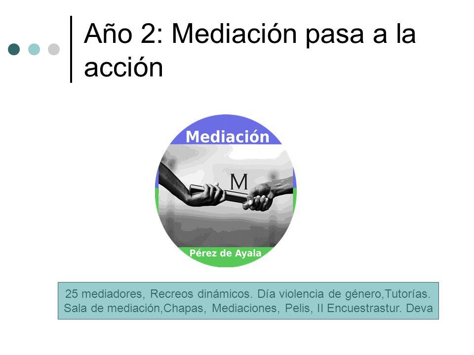 Año 2: Mediación pasa a la acción