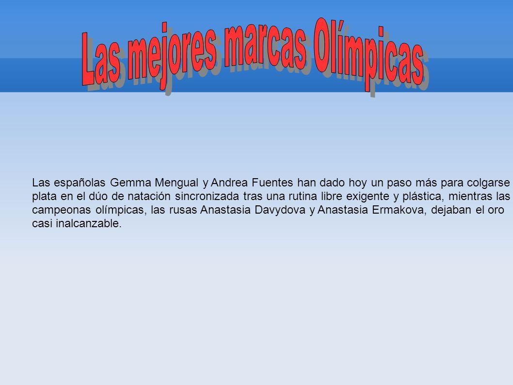 Las mejores marcas Olímpicas