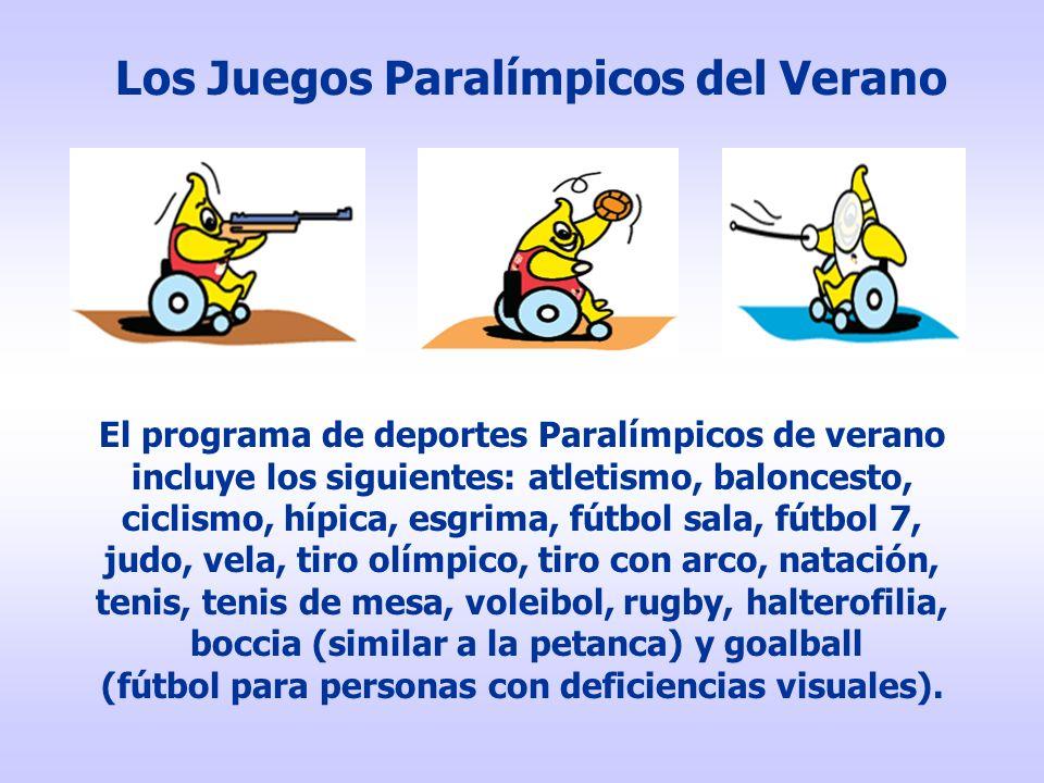 Los Juegos Paralímpicos del Verano