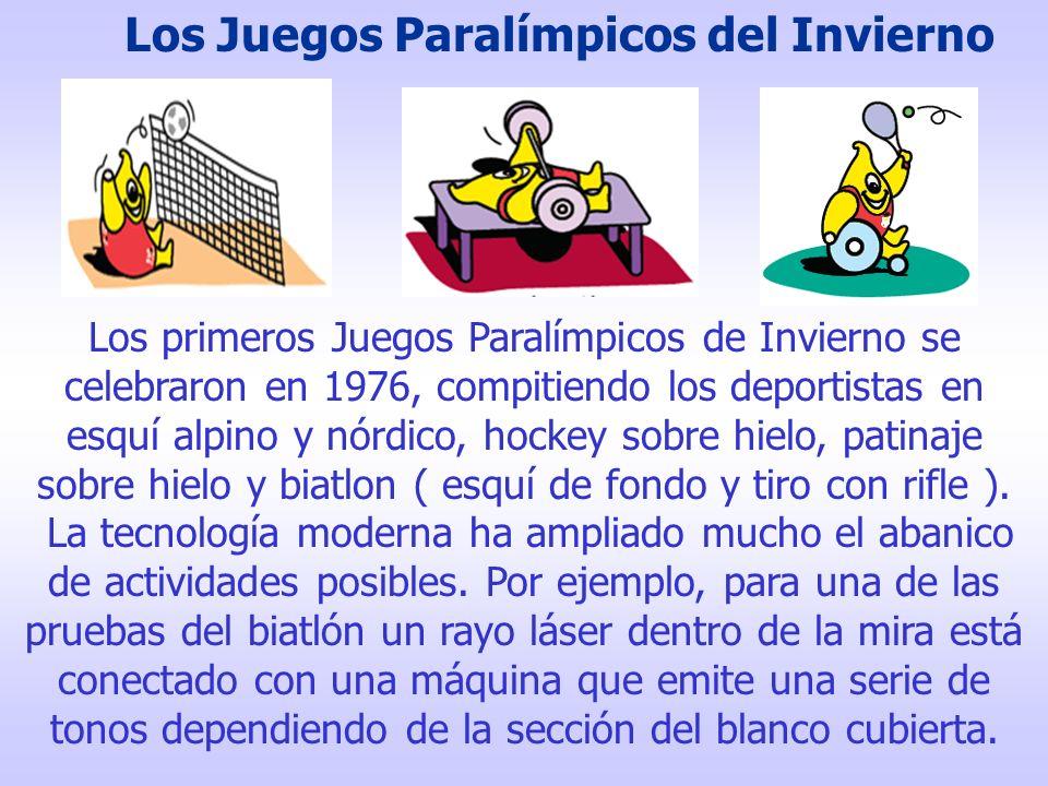 Los Juegos Paralímpicos del Invierno
