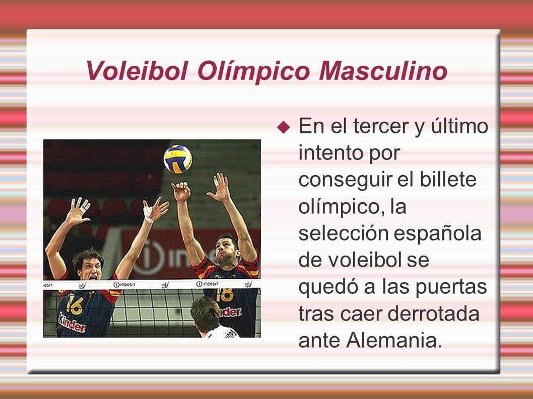 Voleibol Olímpico Masculino