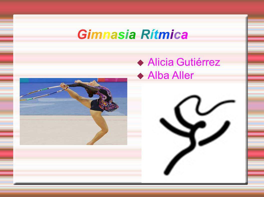Gimnasia Rítmica Alicia Gutiérrez Alba Aller