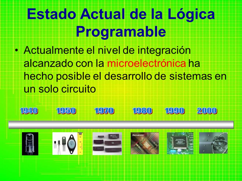 Estado Actual de la Lógica Programable