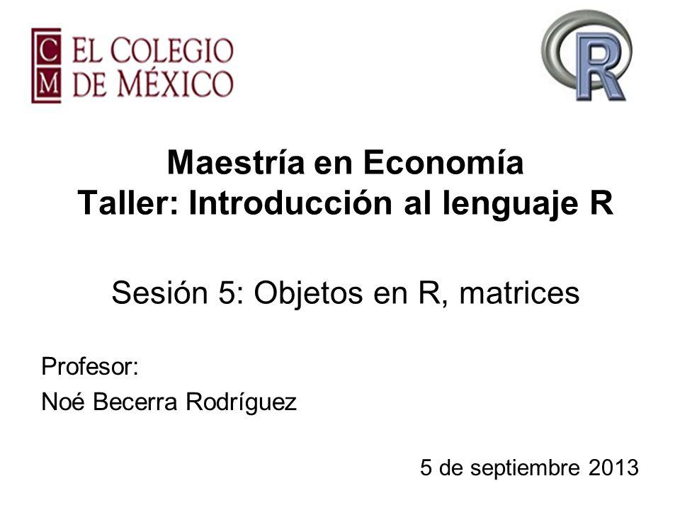 Profesor: Noé Becerra Rodríguez 5 de septiembre 2013