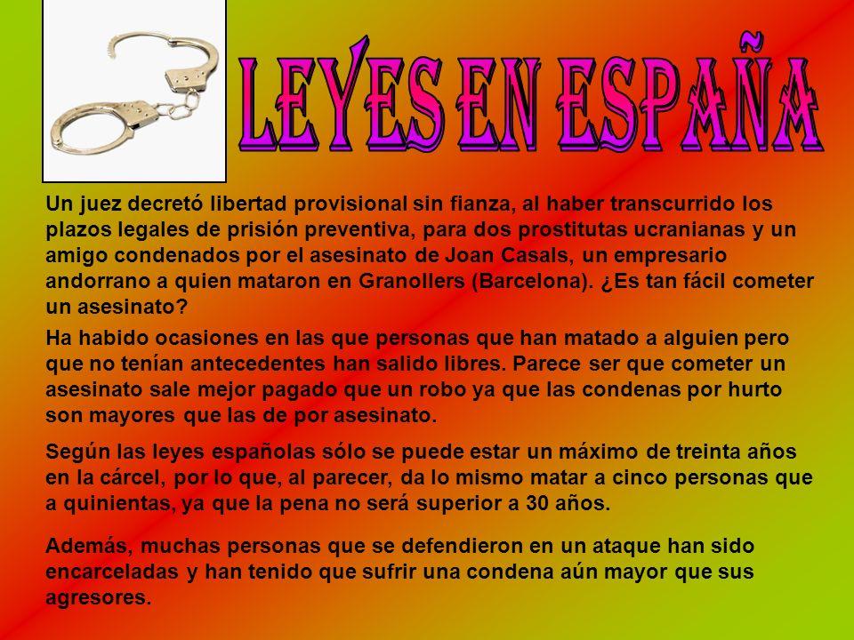 Leyes en España