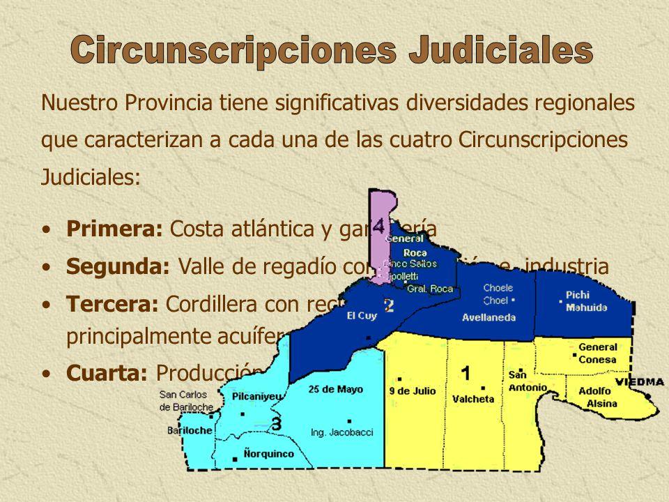 Circunscripciones Judiciales