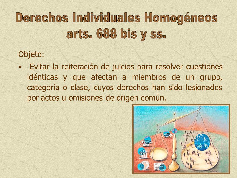 Derechos Individuales Homogéneos