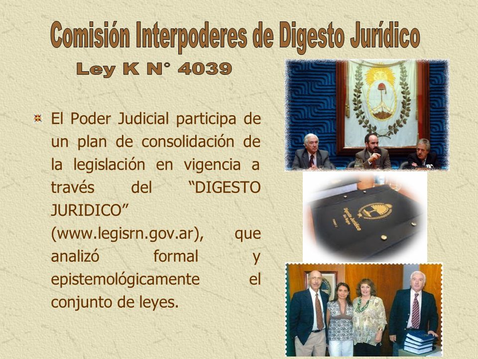 Comisión Interpoderes de Digesto Jurídico
