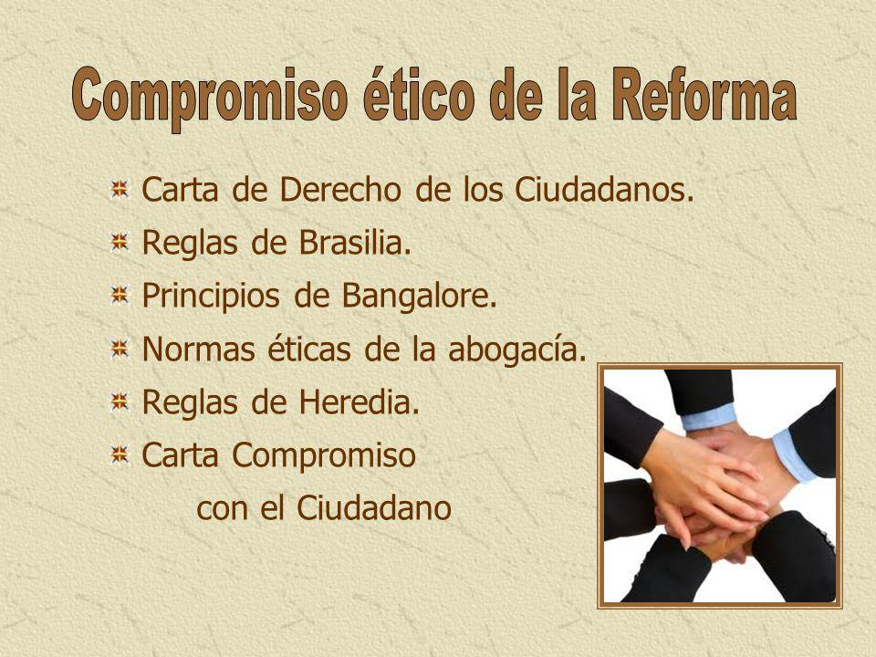 Compromiso ético de la Reforma