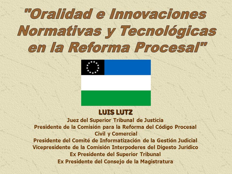 Oralidad e Innovaciones Normativas y Tecnológicas