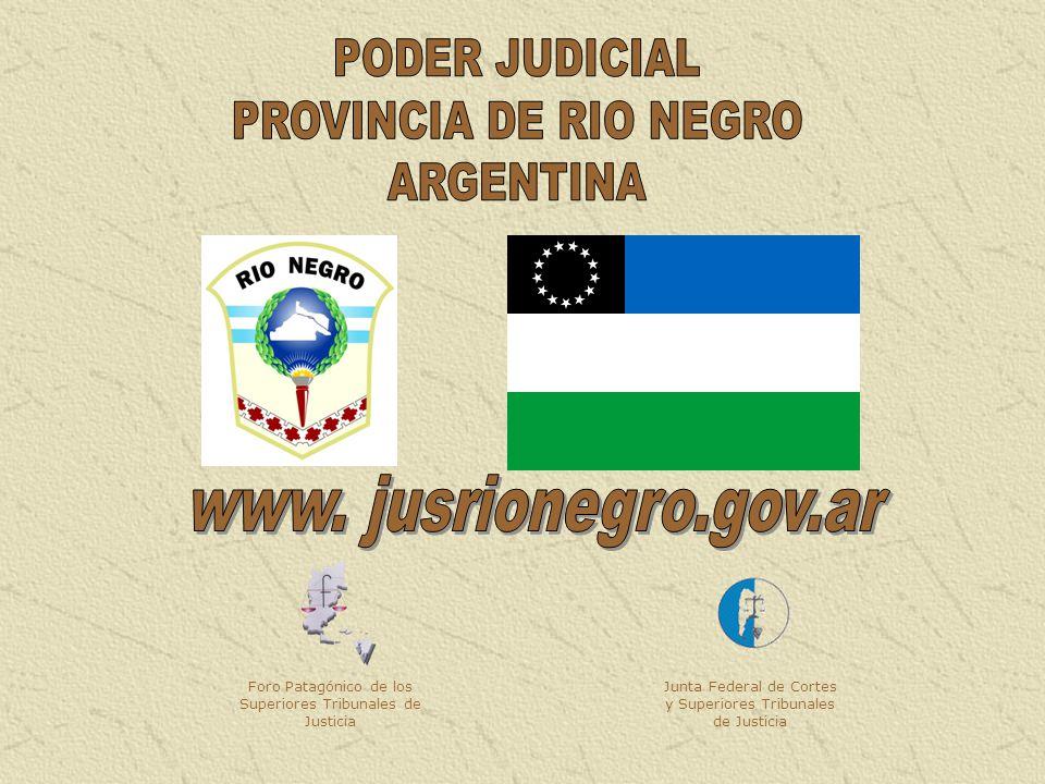 PODER JUDICIAL PROVINCIA DE RIO NEGRO ARGENTINA