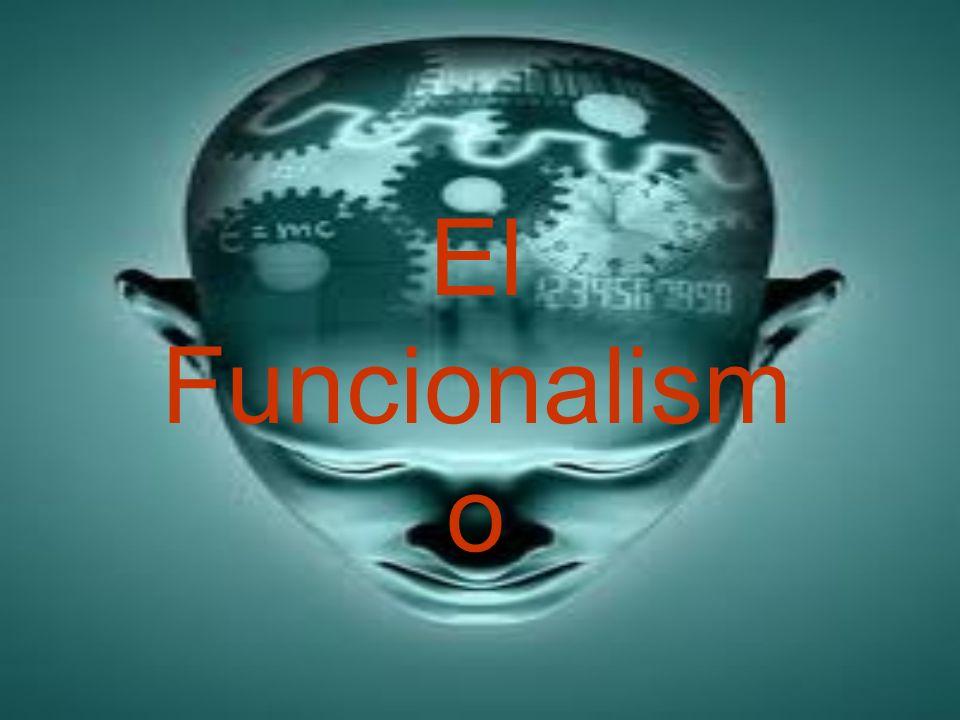 El Funcionalismo