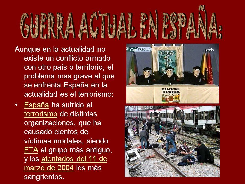 GUERRA ACTUAL EN ESPAÑA: