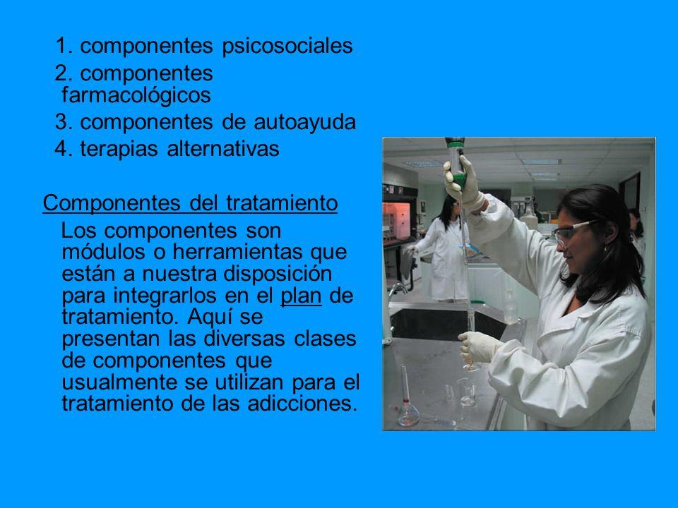 1. componentes psicosociales