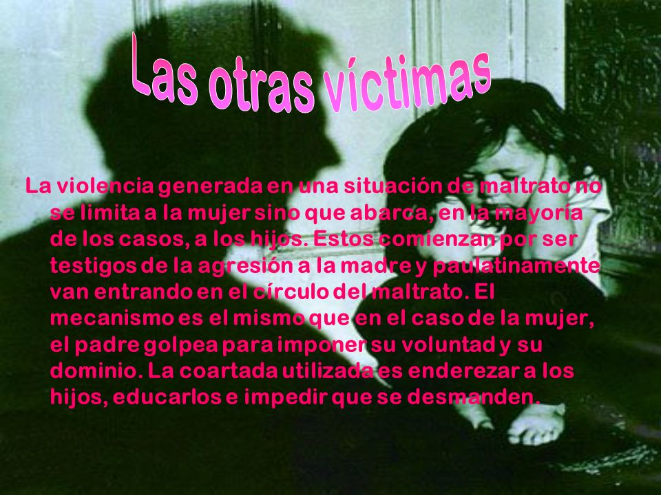 Las otras víctimas