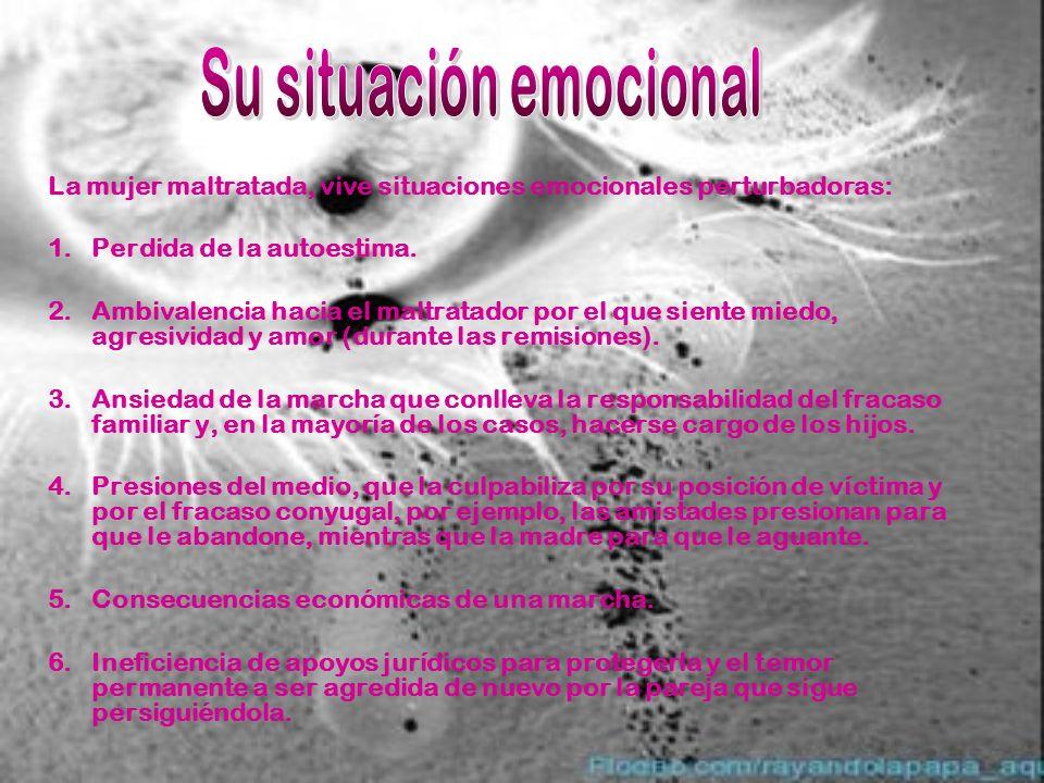 Su situación emocional