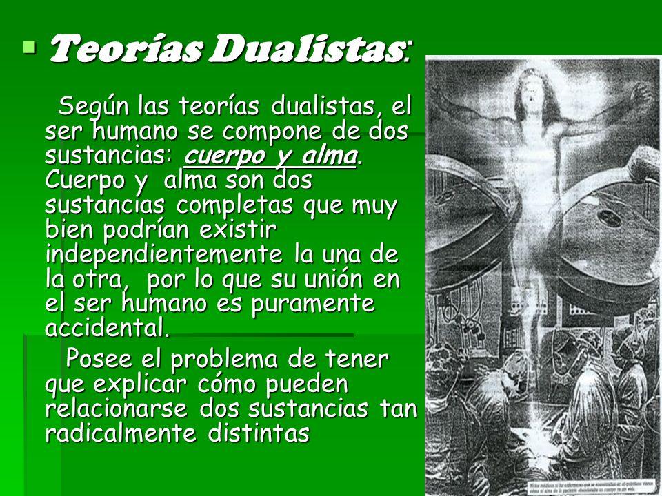 Teorías Dualistas: