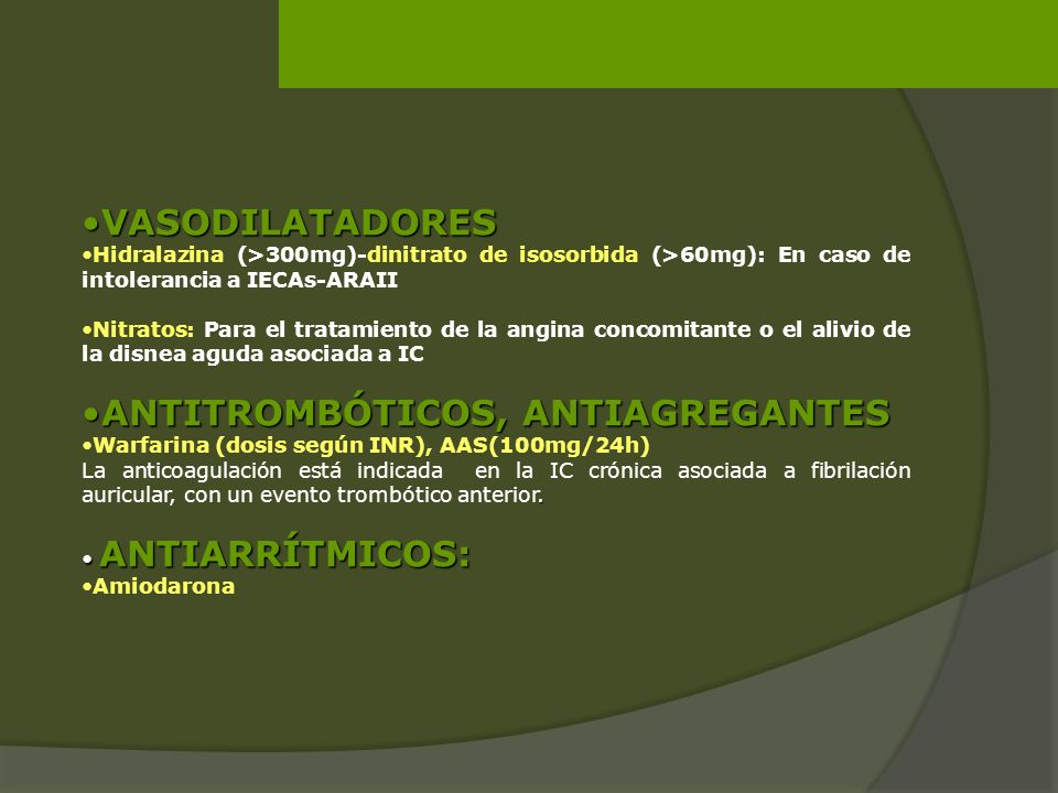 ANTITROMBÓTICOS, ANTIAGREGANTES