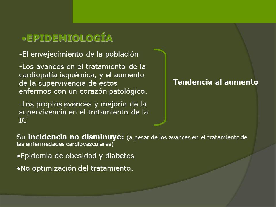 EPIDEMIOLOGÍA -El envejecimiento de la población