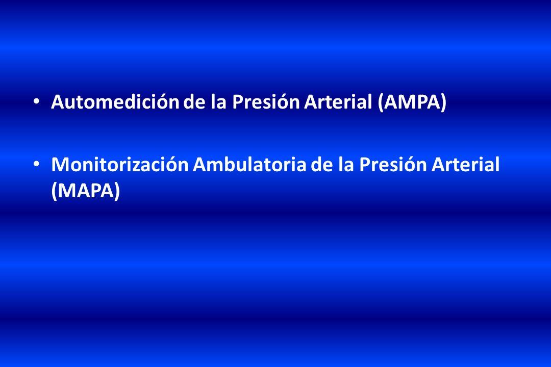 Automedición de la Presión Arterial (AMPA)