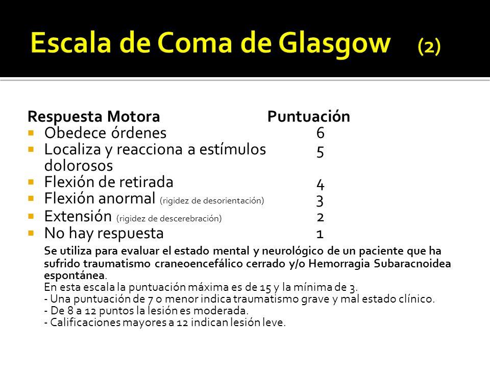 Escala de Coma de Glasgow (2)