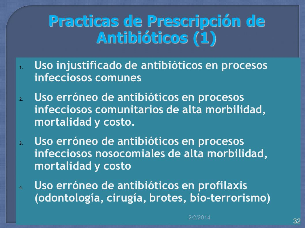 Practicas de Prescripción de Antibióticos (1)
