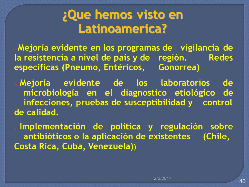 ¿Que hemos visto en Latinoamerica
