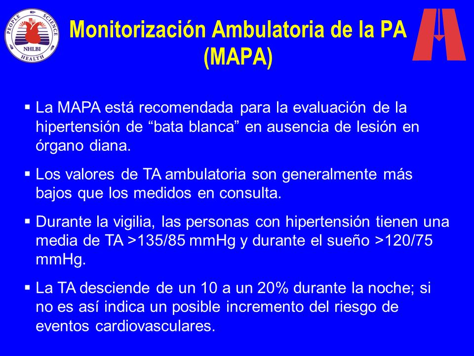 Monitorización Ambulatoria de la PA (MAPA)