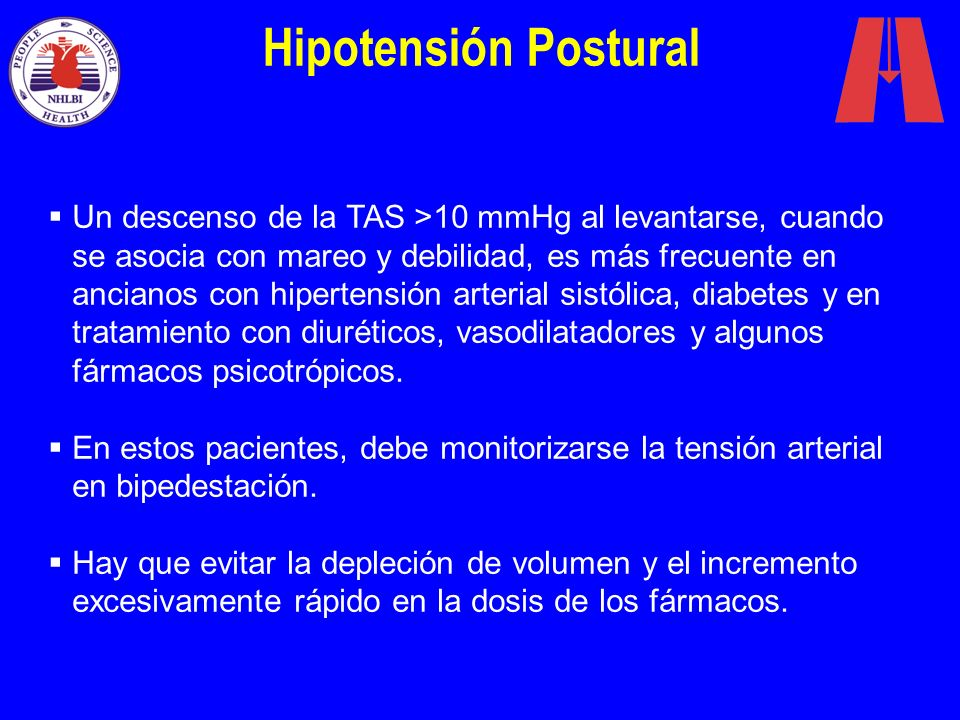 Hipotensión Postural