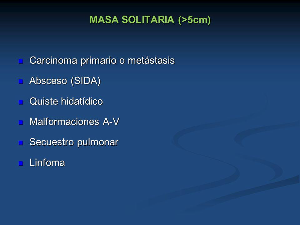 MASA SOLITARIA (>5cm)