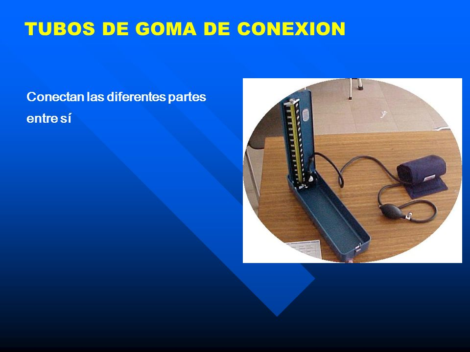 TUBOS DE GOMA DE CONEXION