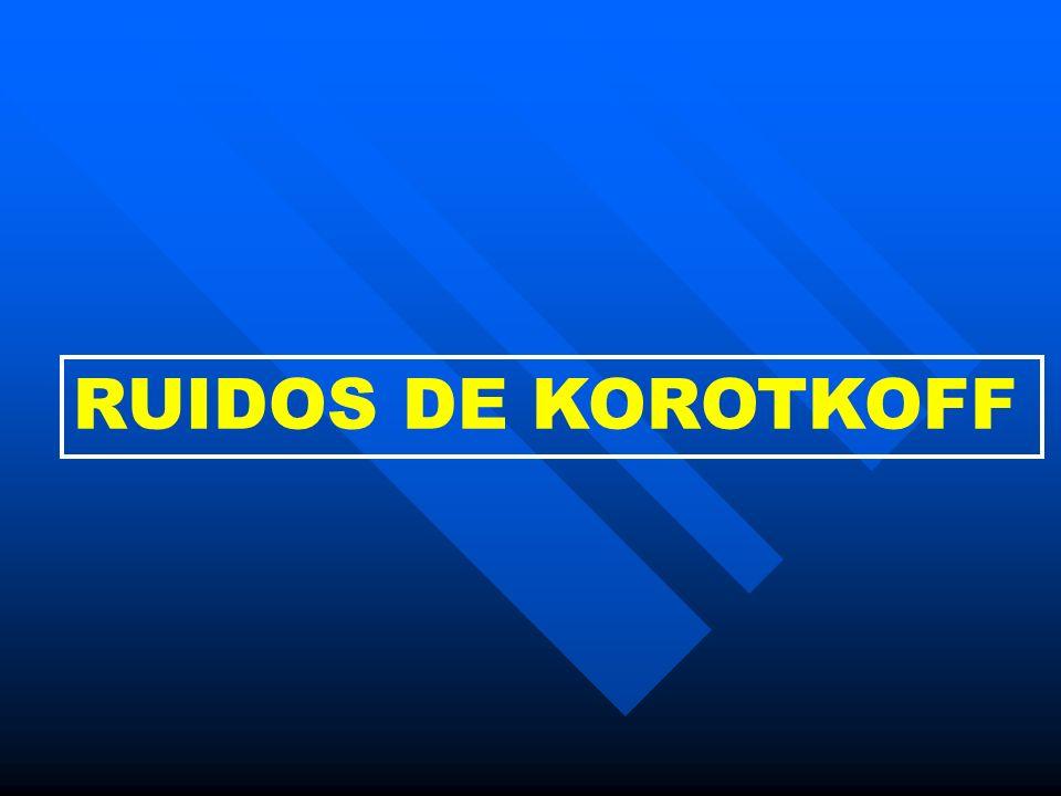 RUIDOS DE KOROTKOFF