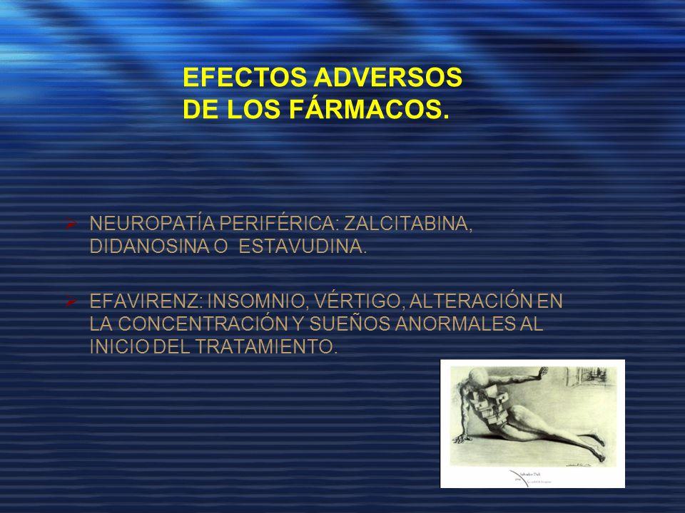 EFECTOS ADVERSOS DE LOS FÁRMACOS.