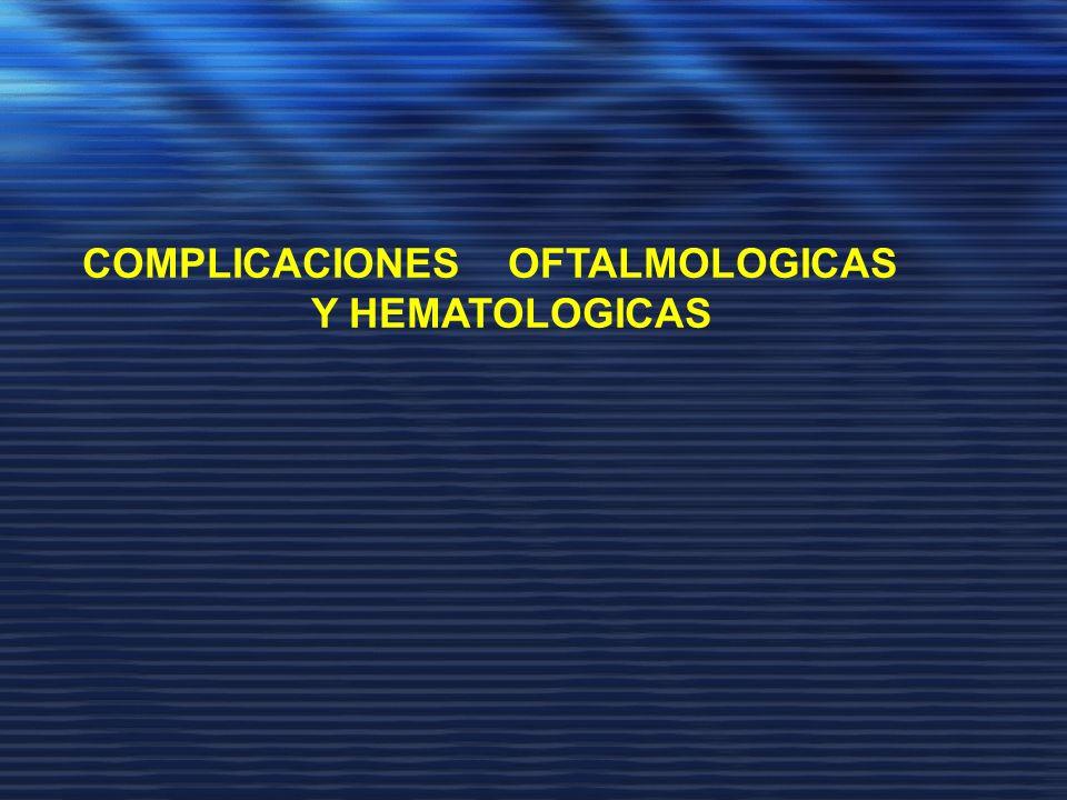 COMPLICACIONES OFTALMOLOGICAS