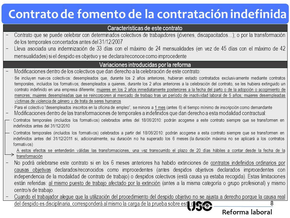 Contrato de fomento de la contratación indefinida