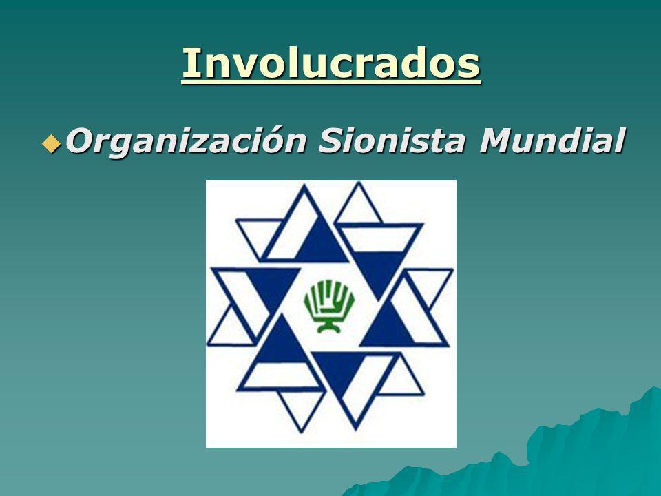 Involucrados Organización Sionista Mundial